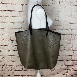 Madewell Transport Pebbled Leather Tote